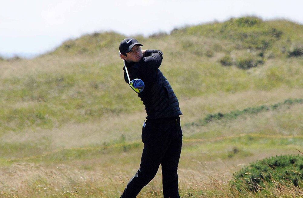 Golfimängijad on US Openil hädas pallide leidmisega