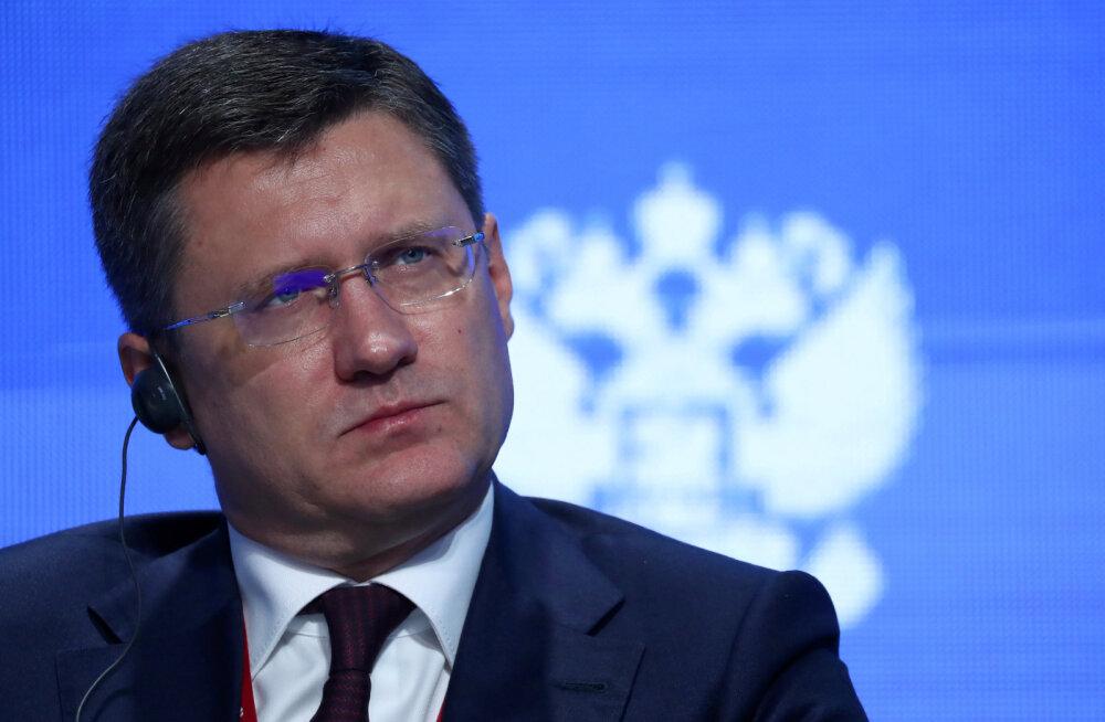 Vene energeetikaminister Novak nakatus koroonaviirusesse