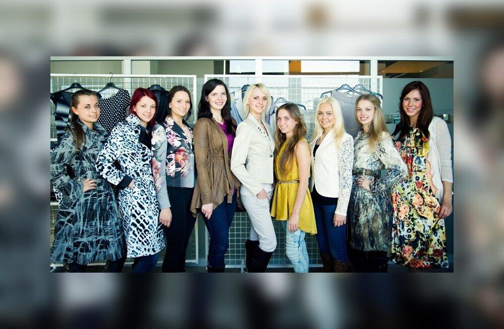 Bastion riietab Miss Raplamaa kandidaadid kleitidesse, millega näeb neidusid ka lõppvõistluse järelpeol koos Ott Leplandiga