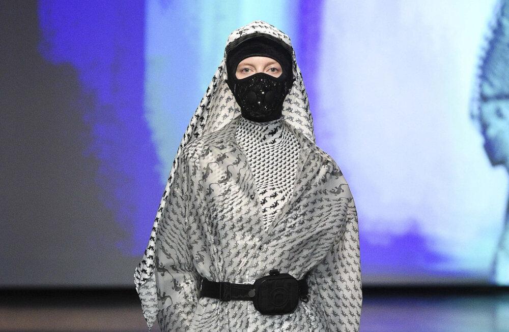 """ФОТО   Красота против коронавируса: креативные маски и """"антивирусный"""" макияж"""