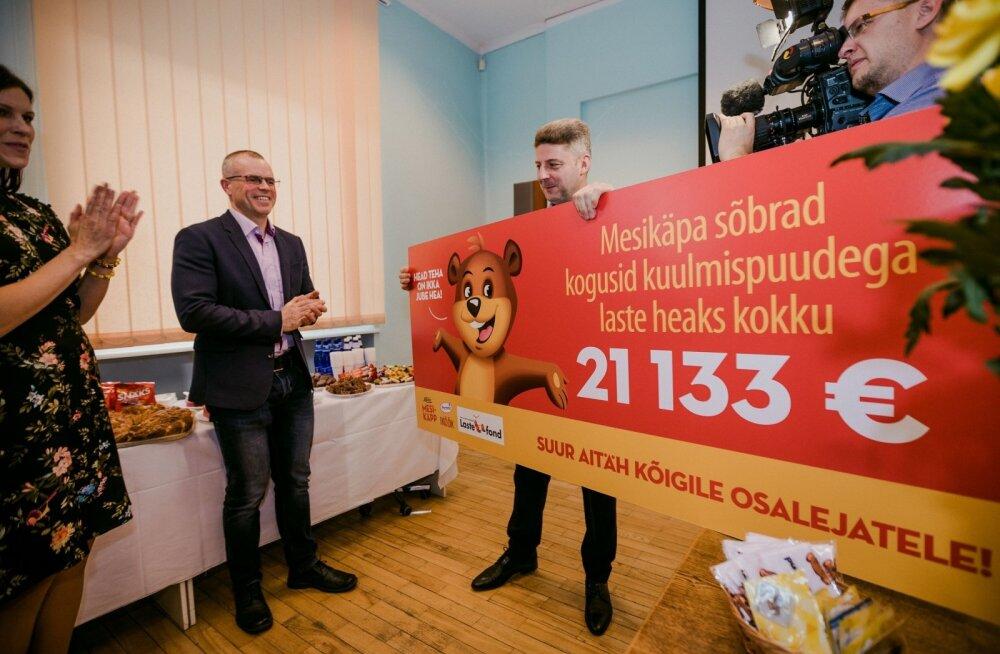 В поддержку глухих детей было собрано более 21 000 евро