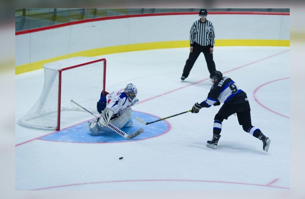 Jäähoki U20 MM Eesti vs. Lõuna-Korea