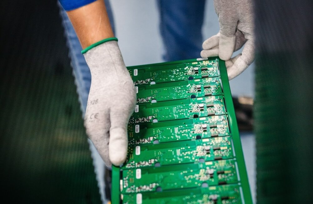 Elektroonikatööstus.