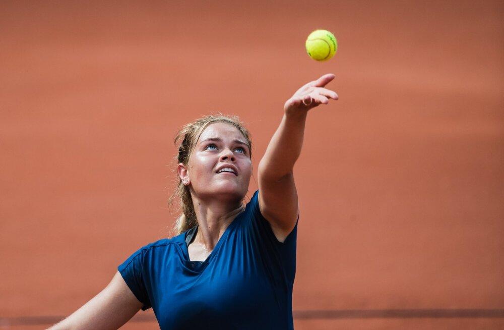 Eesti meistrivõistlused tennises finaal –Elena Malõgina vs Katriin Saar