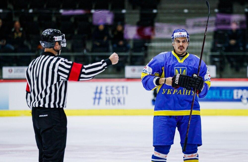 Eesti vs Ukraina jäähoki