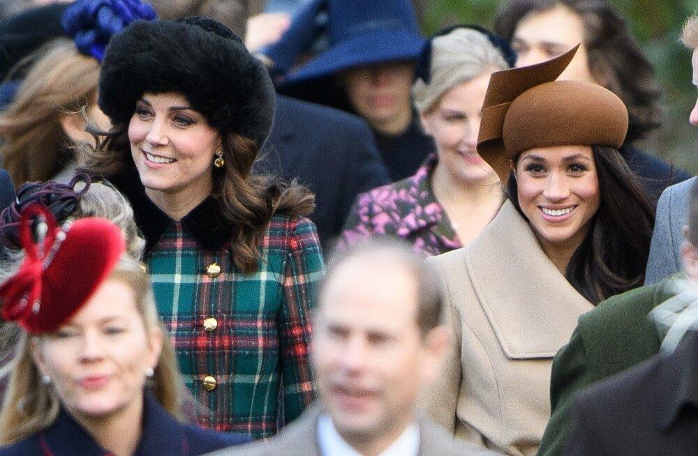 Kate versus Meghan: kes kuulutati kuningliku perekonna suurimaks moemõjutajaks?