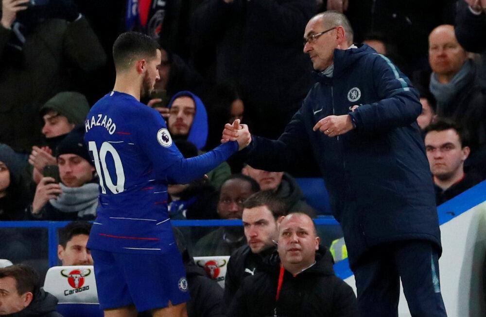 Chelsea peatreener: Hazard pole meeskonna liider, vaid individuaalne mängija