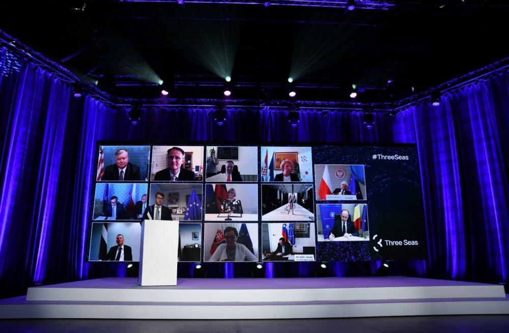 Nii nagu oli juuni lõpus toimunud kolme mere algatuse välisministrite kohtumine, peetakse ka tänane tippkohtumine suures osas virtuaalselt.