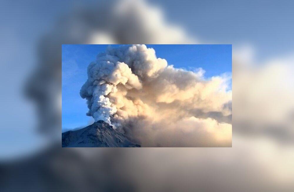 Elule ärganud vulkaan
