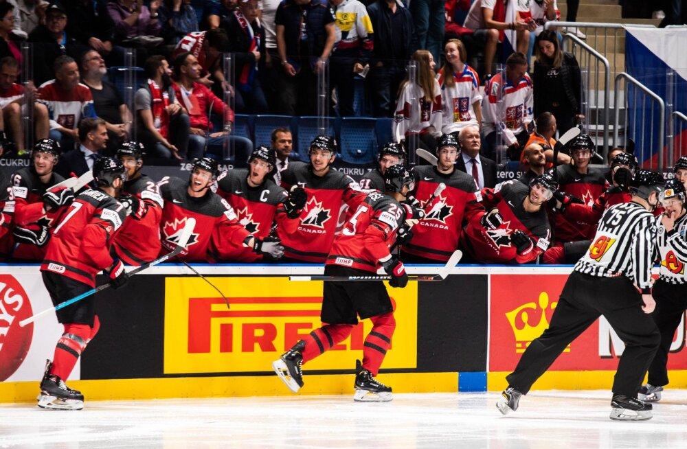 VIDEO | Kanada kostitas Tšehhit viie väravaga ja jõudis jäähoki MM-i finaali