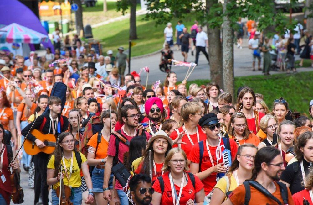 Viljandis algas pärimusmuusika festival