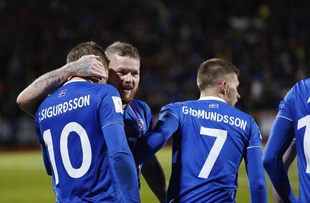 Fantastiline! Väike Island võitis tugeva valikgrupi ning sõidab läbi aegade väikseima riigina MM-finaalturniirile