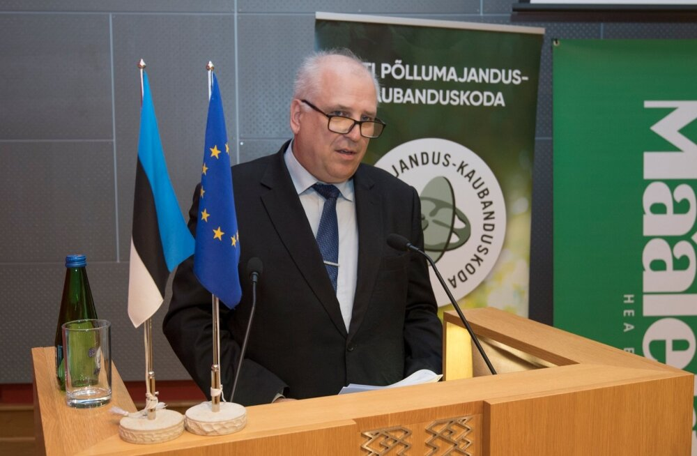 Aasta Põllumees 2019 konverents Riigikogu konverentsisaalis,Mart Järvik
