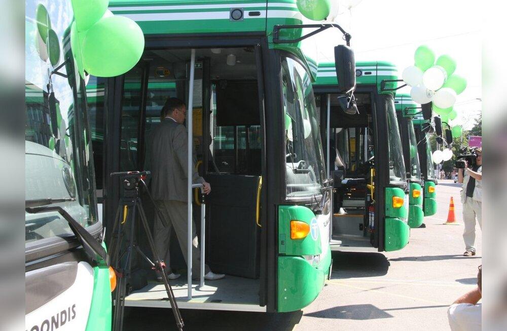 Alates 1. septembrist muutuvad ühistranspordi sõiduplaanid