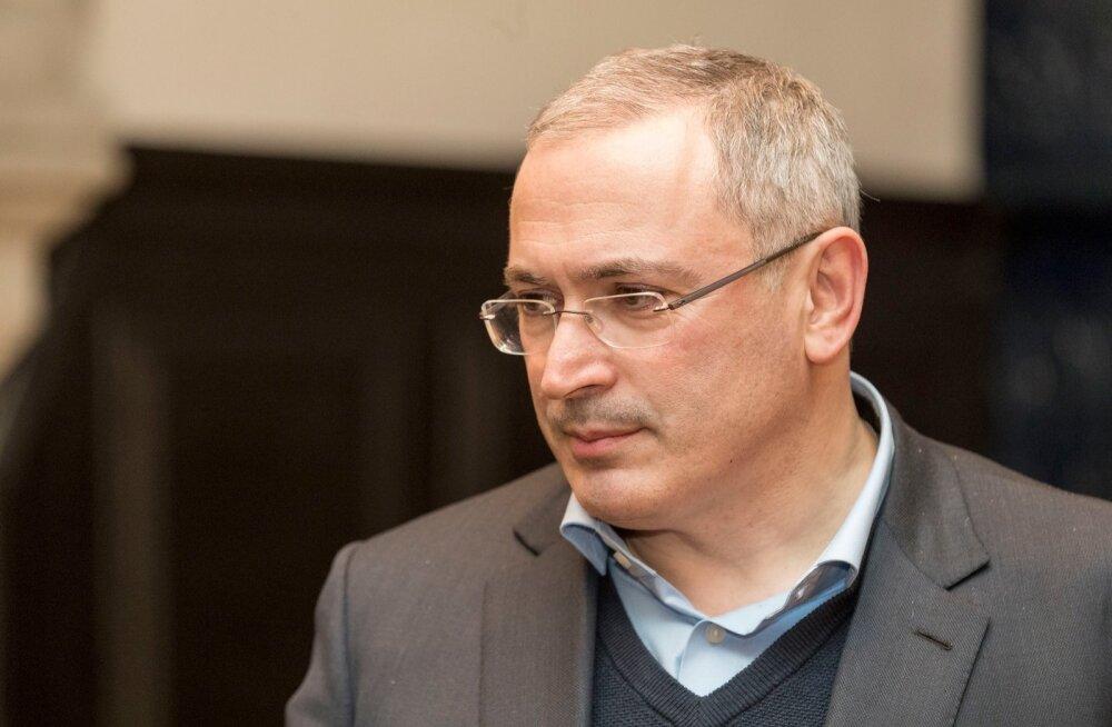 Mihhail Hodorkovski registreeris Eestis uue meediaportaali