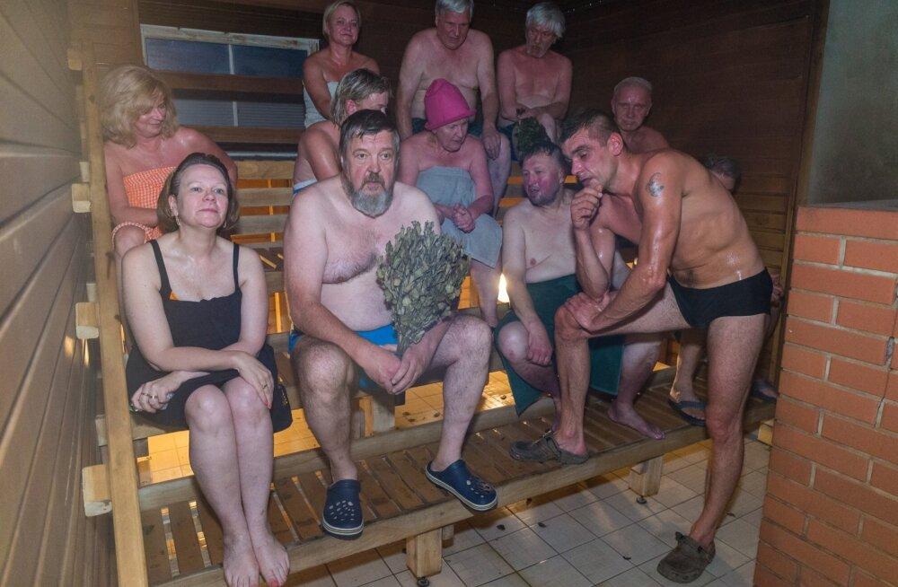 Soome 100, saun Kadrinas