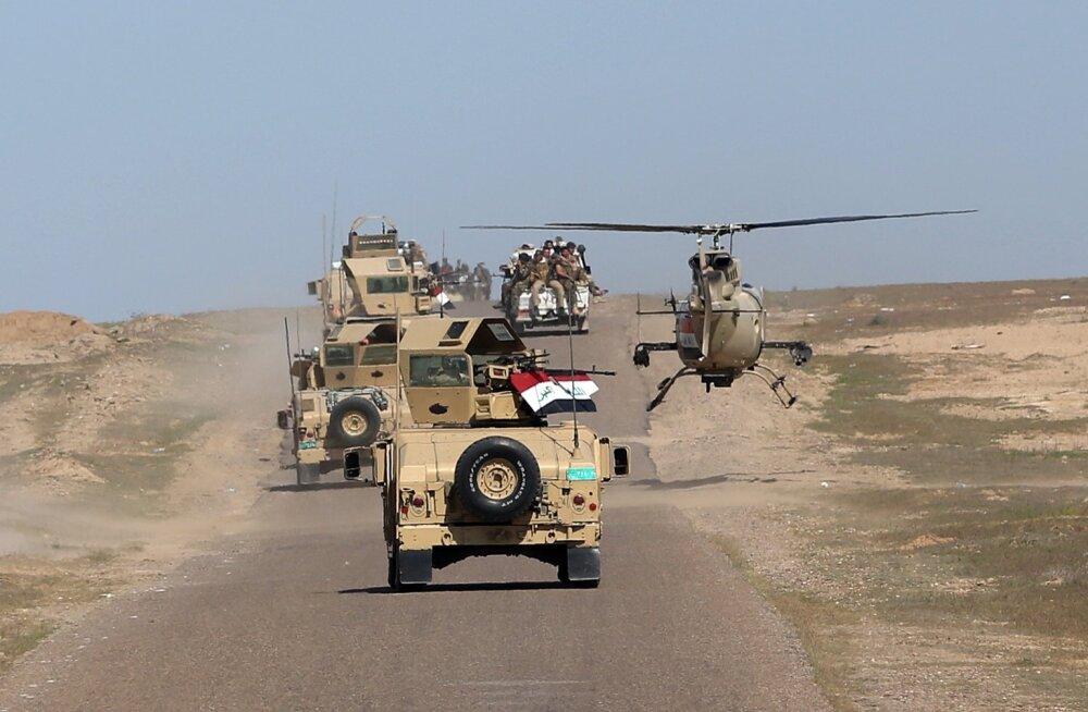 Iraagi väed avastasid Hiti linnast Islamiriigi tohutu maa-aluse vangla, 1500 inimest vabastati