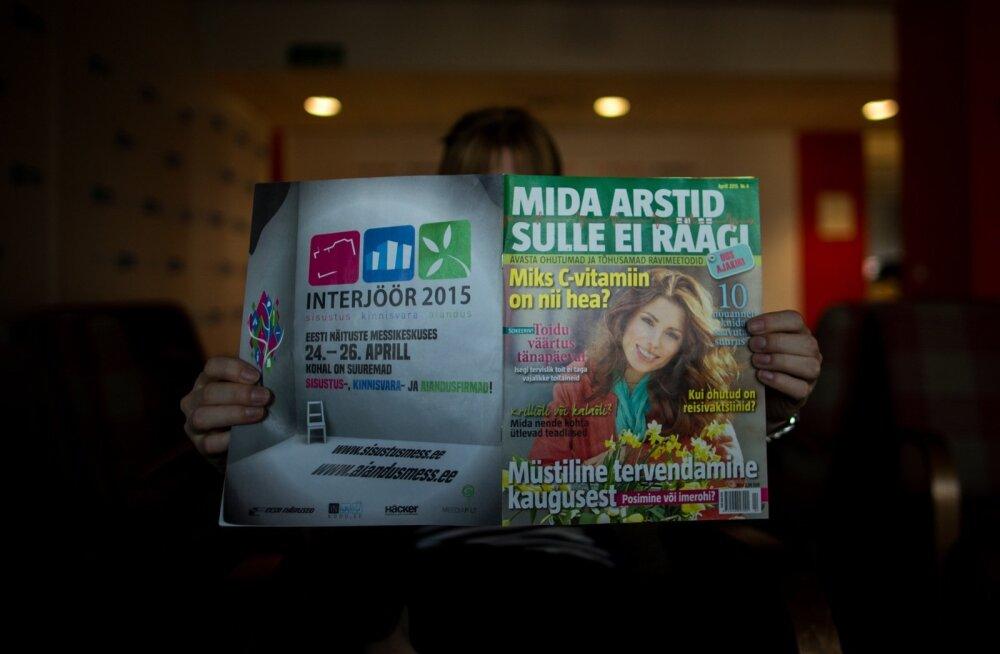 Eesti ajakirjade tiraažid on aastaga kahanenud, ühe erandiga