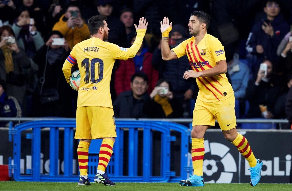 Luis Suarez: Barcelona tahtis minu lahkumist, sest mul olid Messiga liiga head suhted