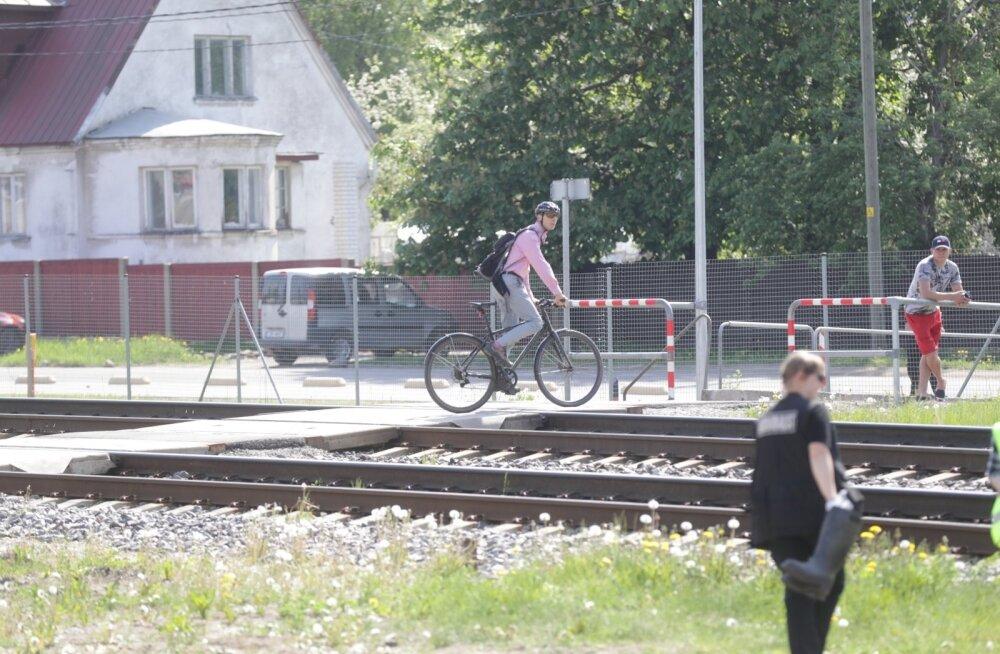 Eesti Raudtee: Veerenni ülekäigule oli foor juba planeeritud