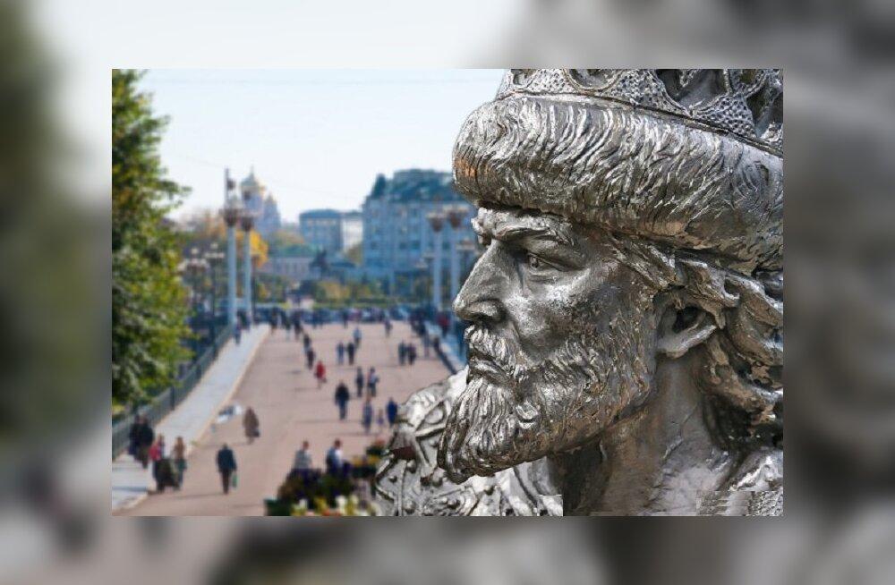 Новый памятник Ивану Грозному в Орле
