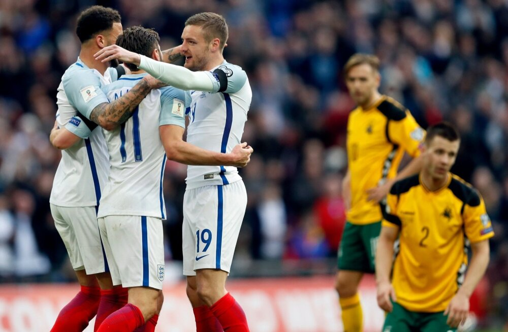Soccer WCup 2018 England Lithuania