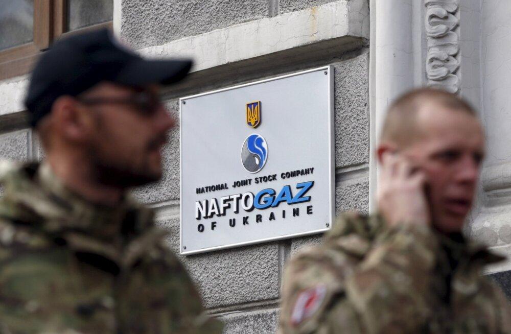 Naftogaz Ukraina kontor Kiievis.