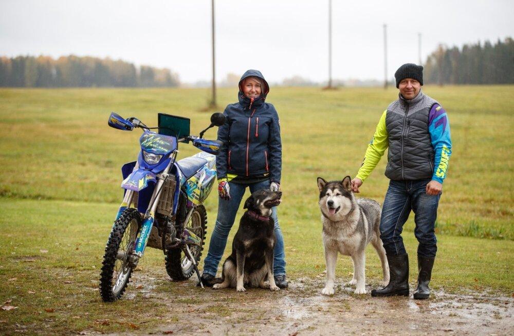 Kodused väljad ja avarus ning majadeta silmapiir olid need, mis tõid Maria ja Tuljo Tallinnast tagasi.