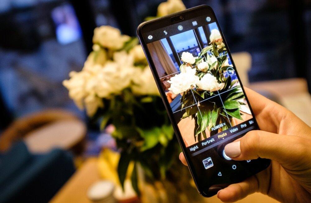 Pildistamine Huawei P20 Pro AI režiimiga