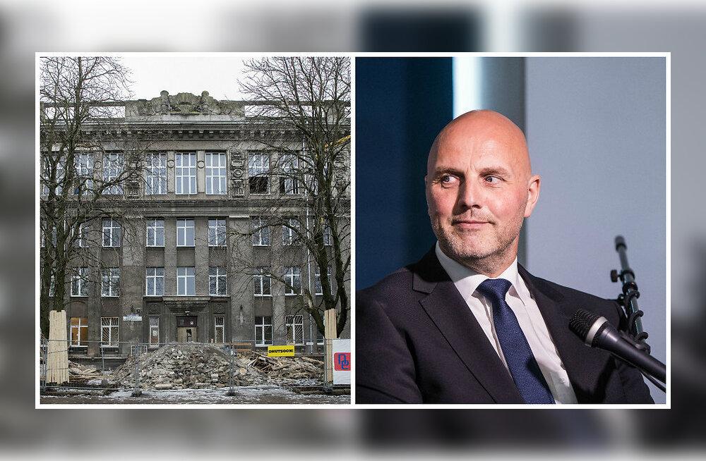 ПРЯМОЕ ВКЛЮЧЕНИЕ: Администрация Гимназии Густава Адольфа — о ремонте здания и не только
