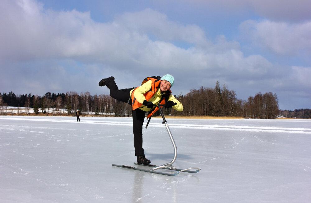 Otepää pole ainult suusatamiseks, talvepealinn pakub ka uhkeid matkaradu