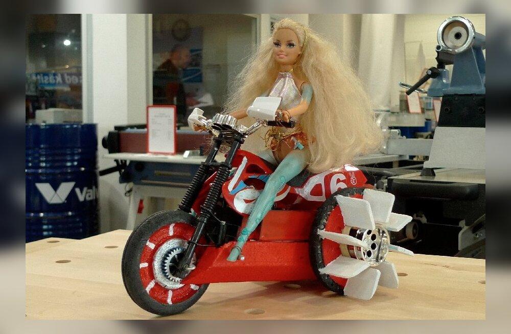 FOTOD: Venekeelse meedia kõige tuntuma naise ehk elus-Barbie esimene profisessioon!