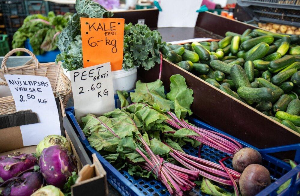EESTI TURGUDE HINNAVAATLUS | Varajase kartuli, peakapsa, porgandi, peedi ja kaalika hind jätkab langemist