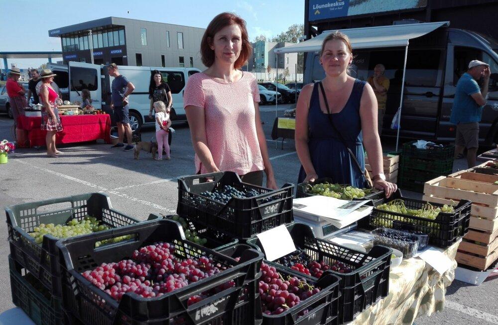 Võrukad ostavad Eesti viinamarju rohkem kui tartlased