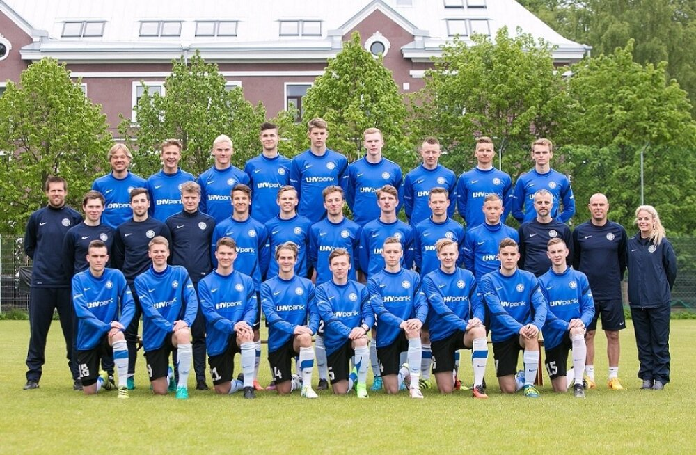 Eesti U19 koondis 2017