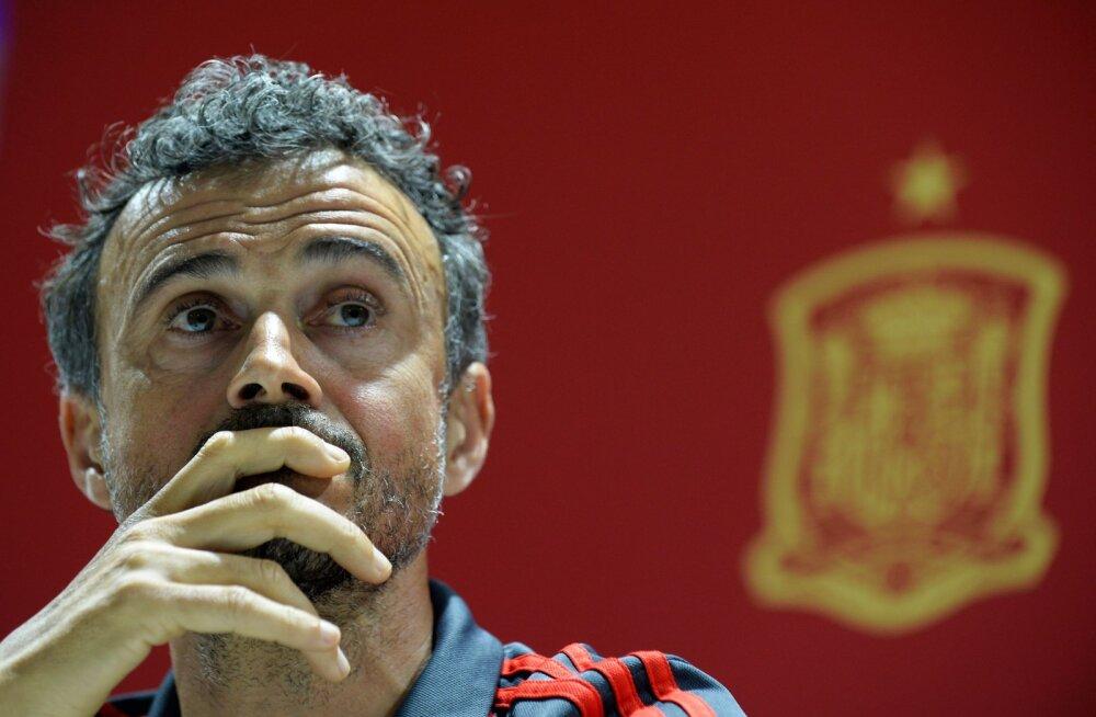 Hispaania jalgpallikoondise peatreener: publikuta mängimine on kurvem kui õega tantsimine