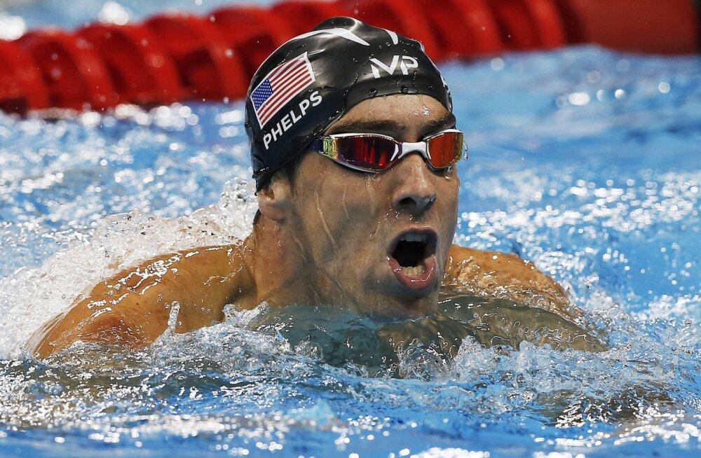 Michael Phelps võtab mõõtu mõrtsukhaiga