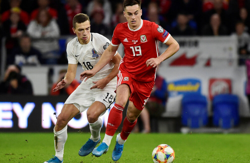 Walesi koondislane Tom Lawrence