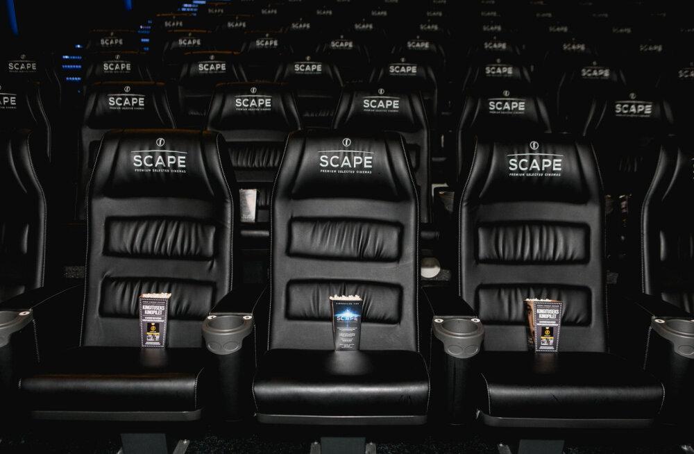 Coca-Cola Plaza kutsub Scape kinosaali sünnipäeva tähistama