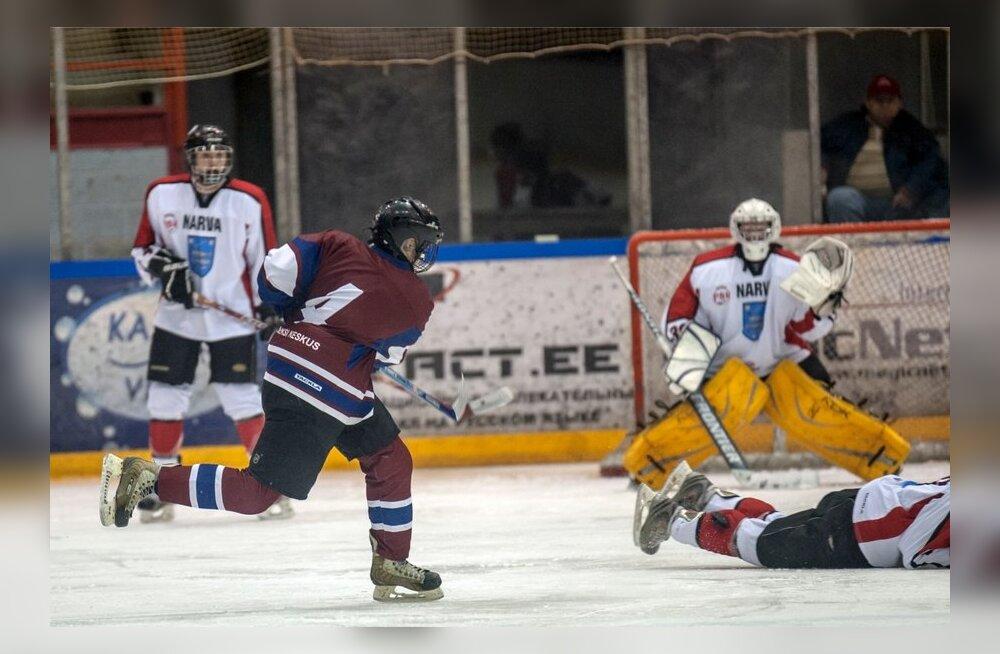 4cd2595c2bf FOTOD: Narva PSK purustas jäähokiliigas Everesti 10:1 - Sport