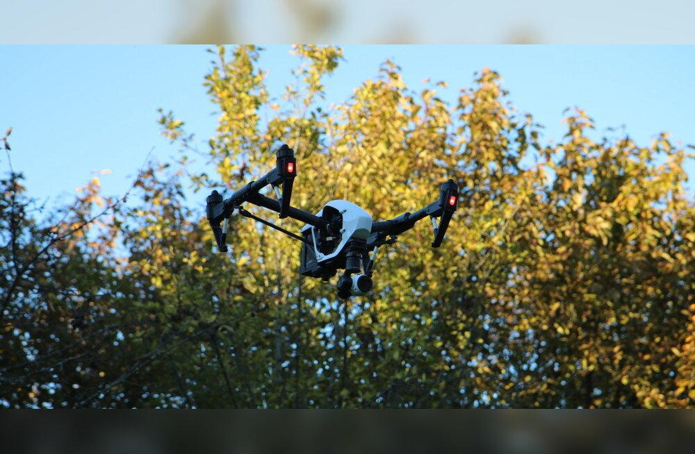 TEST: DJI droon Inspire 1 – lendav ime