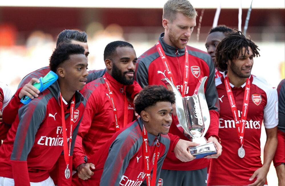 Arsenal tõstis pea kohale juba teise karika sellel hooajal