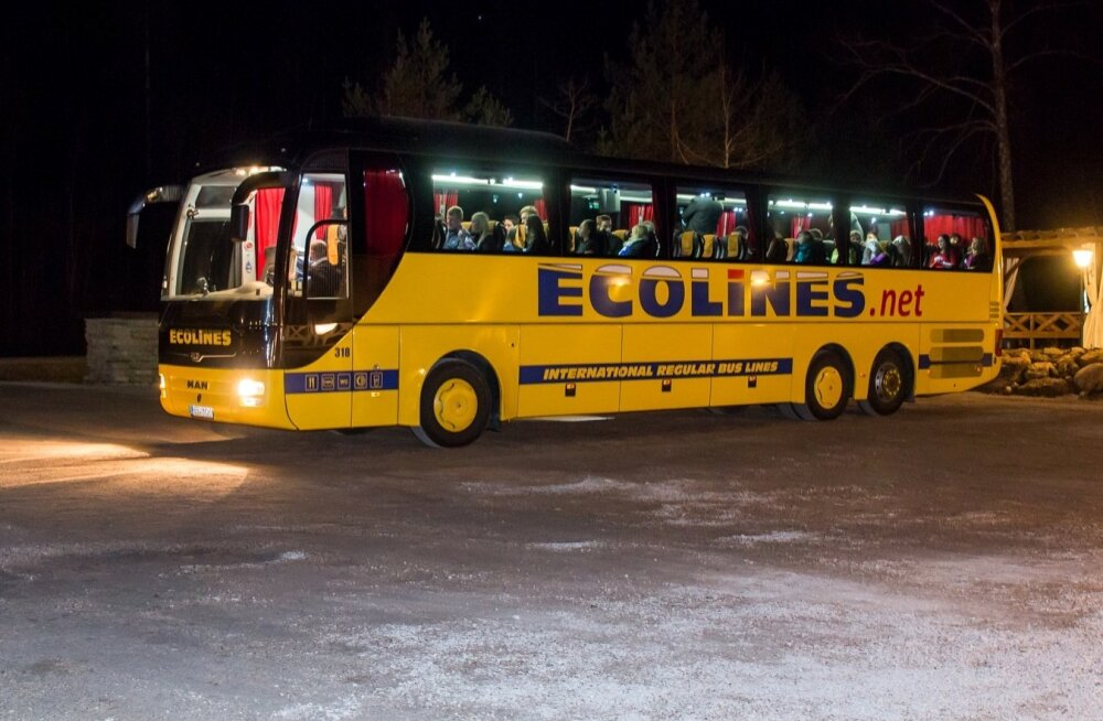 Ecolines speed-date buss