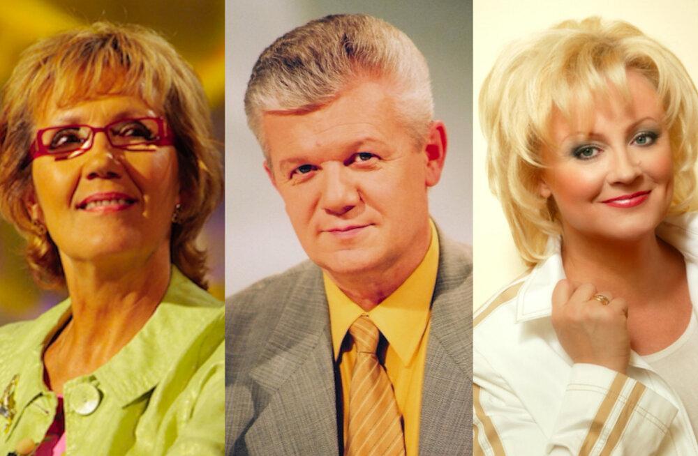 Reet Linna, Olavi Pihlamägi ja Anne Veski
