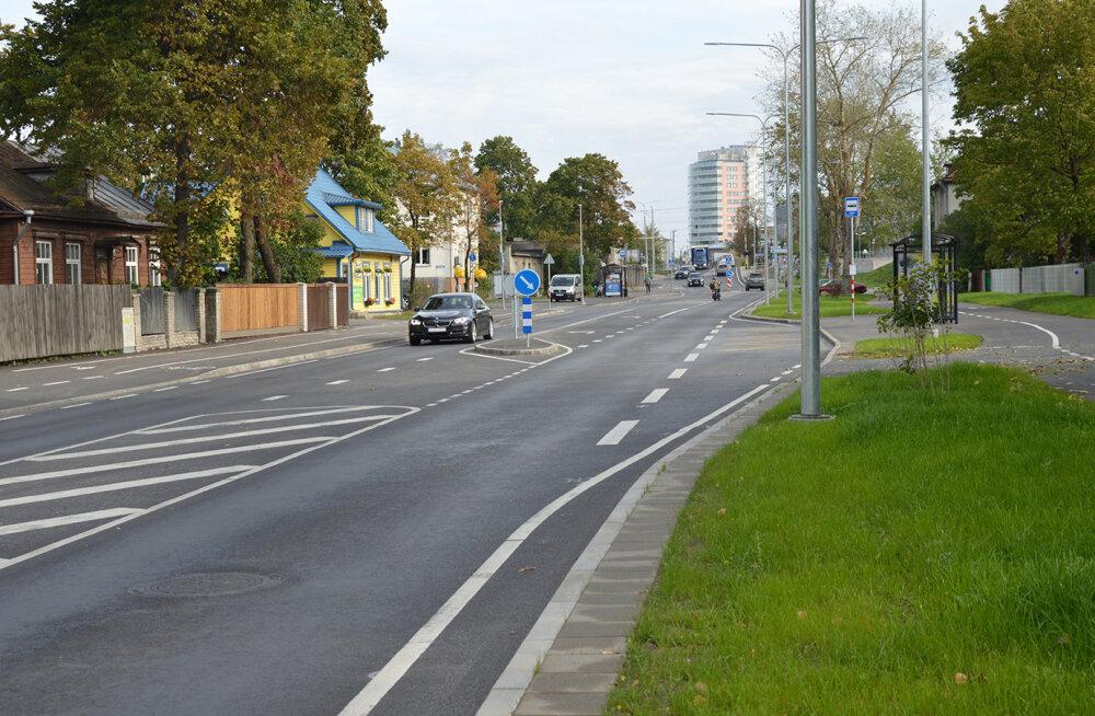 Реконструкция отрезка столичной улицы Тонди завершена: движение стало безопаснее