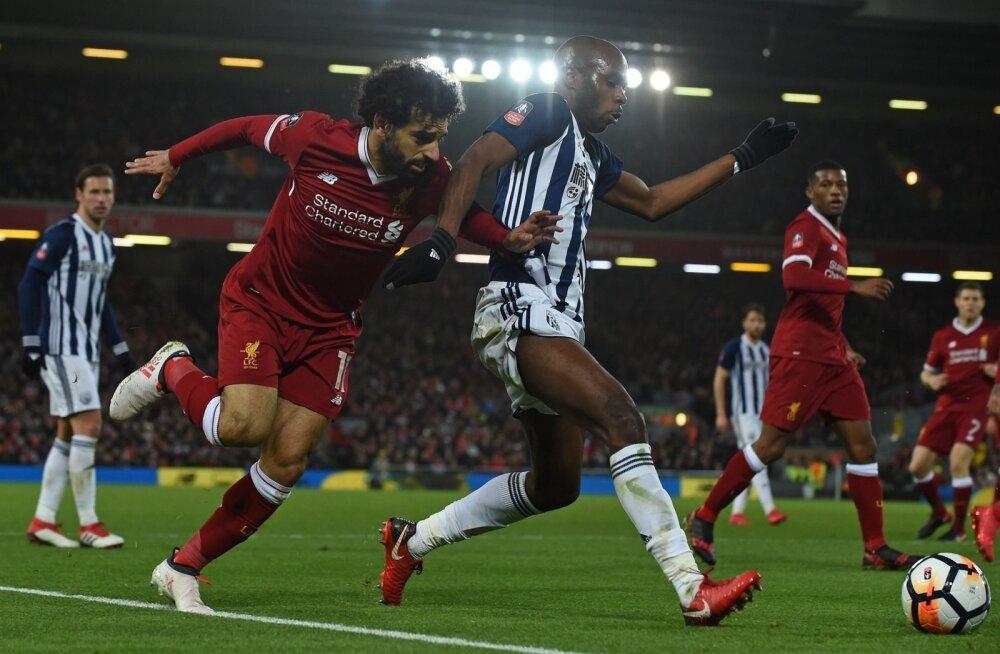 Mohamed Salah võitluses