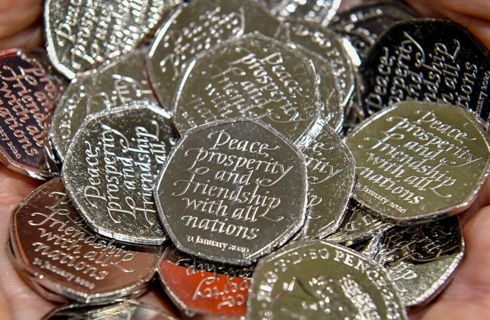 Kas brexiti müntidega läheb spekuleerimiseks?
