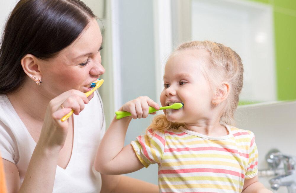 Kuidas lapse hambaid õigesti hooldada?