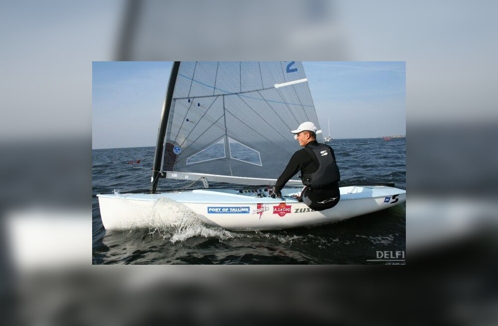 Deniss Karpak hoiab purjetamise MK etapil 18. kohta