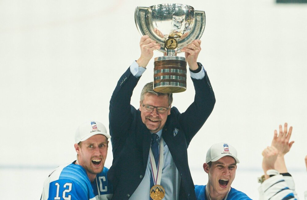 Soome hokikoondise peatreener meeskonna kangelasest: see oli Marko Anttila tiim!